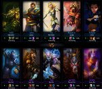 league of legends partie
