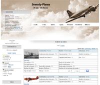 Seventy planes
